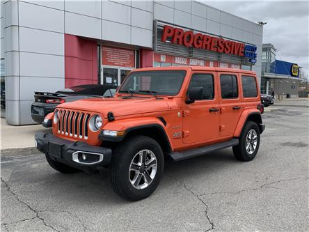 2020 Jeep Wrangler Unlimited Sahara (Stk: LW116028) in Sarnia - Image 1 of 10