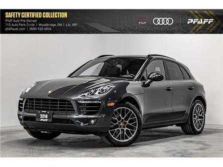 2018 Porsche Macan Sport Edition (Stk: T17615A) in Vaughan - Image 1 of 22