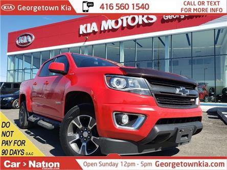 2016 Chevrolet Colorado Z71 | DIESEL|CREW|TONNEAU CVR |TOW BRAKE|HTD SEATS (Stk: P13204) in Georgetown - Image 1 of 29