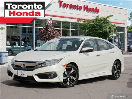 2016 Honda Civic Sedan Touring (Stk: H40080A) in Toronto - Image 1 of 28