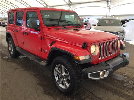 2019 Jeep Wrangler Unlimited Sahara (Stk: 182750) in AIRDRIE - Image 1 of 39