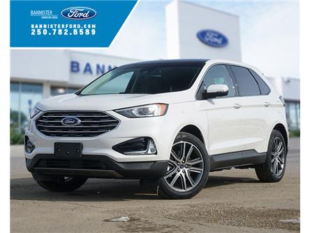 2020 Ford Edge Titanium (Stk: S202090) in Dawson Creek - Image 1 of 18