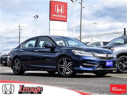 2017 Honda Accord Touring (Stk: 10A483A) in Hamilton - Image 1 of 22