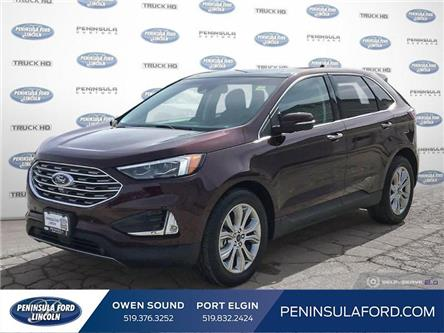 2019 Ford Edge Titanium (Stk: 1976) in Owen Sound - Image 1 of 25