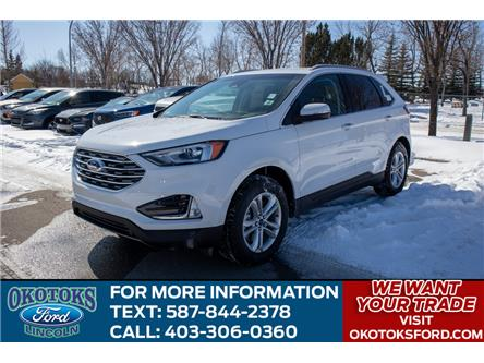 2020 Ford Edge SEL (Stk: LK-128) in Okotoks - Image 1 of 5