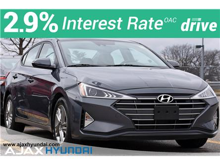 2020 Hyundai Elantra Preferred w/Sun & Safety Package (Stk: P4959R) in Ajax - Image 1 of 32