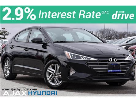 2020 Hyundai Elantra Preferred w/Sun & Safety Package (Stk: P4966R) in Ajax - Image 1 of 34