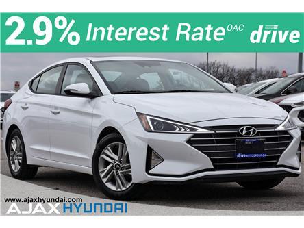 2020 Hyundai Elantra Preferred w/Sun & Safety Package (Stk: P4963R) in Ajax - Image 1 of 34