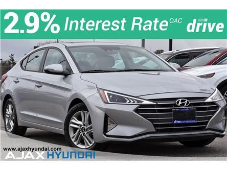 2020 Hyundai Elantra Preferred w/Sun & Safety Package (Stk: P4962R) in Ajax - Image 1 of 34