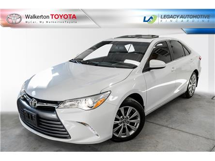 2015 Toyota Camry XLE (Stk: 19080B) in Walkerton - Image 1 of 17