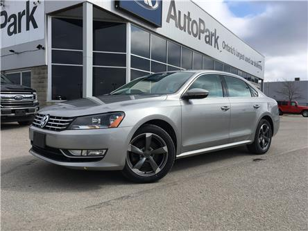 2012 Volkswagen Passat 2.0 TDI Highline (Stk: 12-94152JB) in Barrie - Image 1 of 23