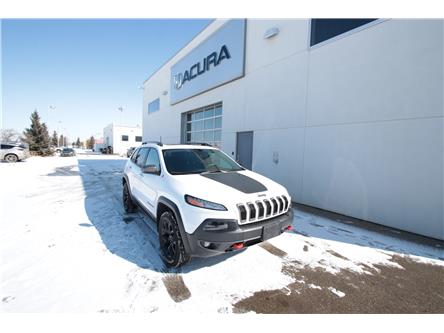 2018 Jeep Cherokee Trailhawk (Stk: PW0153) in Red Deer - Image 1 of 21