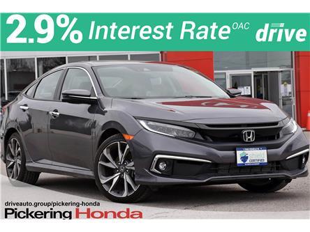 2019 Honda Civic Touring (Stk: U1085) in Pickering - Image 1 of 25