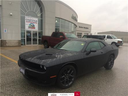 2019 Dodge Challenger Nav/Sunroof/Blacktop Pckg/Heated Vented Seats (Stk: U04478) in Chatham - Image 1 of 26