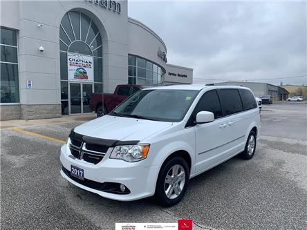 2017 Dodge Grand Caravan Nav/Heated Front and Second Row Seats (Stk: U04558) in Chatham - Image 1 of 25