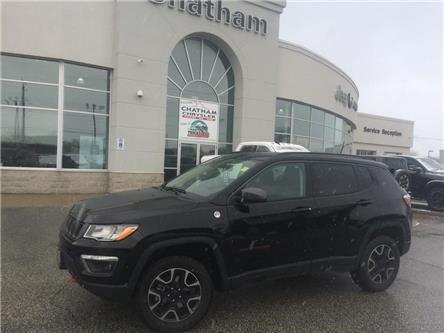 2019 Jeep Compass Nav/ Pano Roof/ Heated Seats/ Trail Rated (Stk: U04458) in Chatham - Image 1 of 30