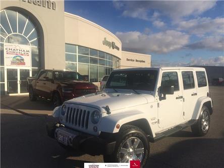 2018 Jeep Wrangler JK Unlimited Nav/Dual Tops/Bluetooth/Lease Return (Stk: U04533) in Chatham - Image 1 of 25