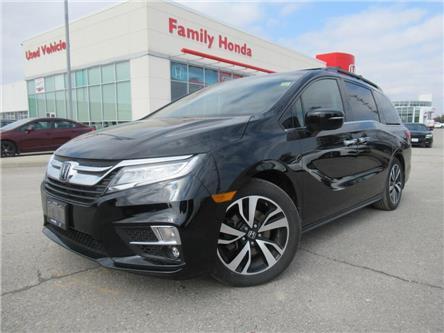 2019 Honda Odyssey Touring Auto | NAVI | PUSH START | REVERSE CAM | (Stk: 503982T) in Brampton - Image 1 of 12