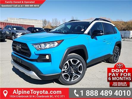 2020 Toyota RAV4 Trail (Stk: C099319) in Cranbrook - Image 1 of 26