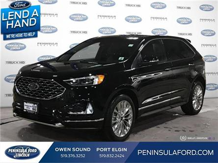 2020 Ford Edge Titanium (Stk: 20ED14) in Owen Sound - Image 1 of 24