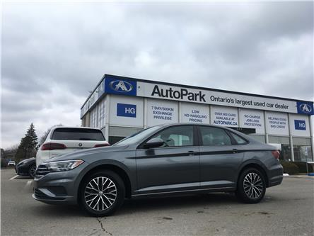 2019 Volkswagen Jetta 1.4 TSI Highline (Stk: 19-10659) in Brampton - Image 1 of 24