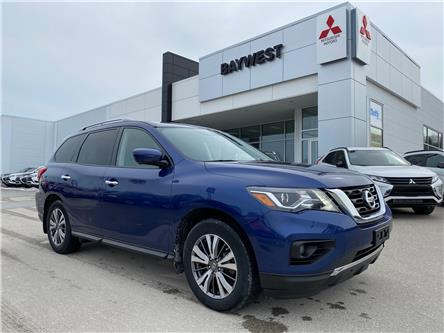 2018 Nissan Pathfinder Platinum (Stk: ) in Owen Sound - Image 1 of 25