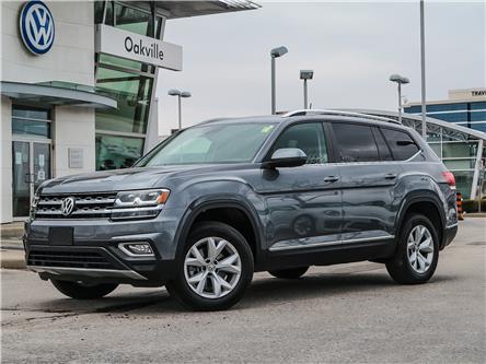 2019 Volkswagen Atlas 3.6 FSI Highline (Stk: 8043V) in Oakville - Image 1 of 24
