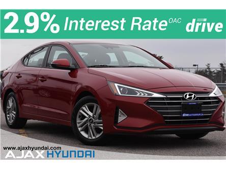 2020 Hyundai Elantra Preferred w/Sun & Safety Package (Stk: P4965R) in Ajax - Image 1 of 34