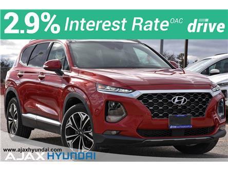 2019 Hyundai Santa Fe Ultimate 2.0 (Stk: 19575) in Ajax - Image 1 of 38