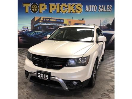 2015 Dodge Journey Crossroad (Stk: 589611) in NORTH BAY - Image 1 of 28