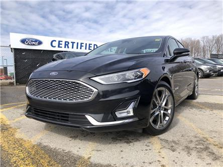 2019 Ford Fusion Hybrid Titanium (Stk: P9065) in Barrie - Image 1 of 17
