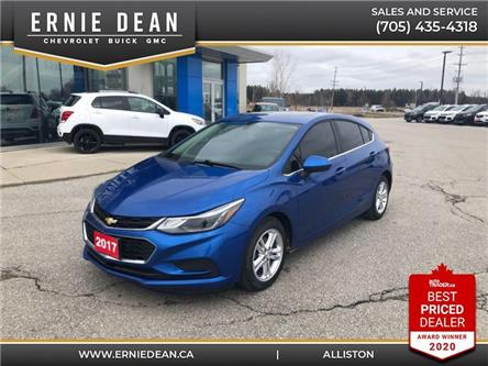 2017 Chevrolet Cruze Hatch LT Auto (Stk: P2200) in Alliston - Image 1 of 10