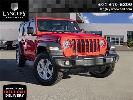 2018 Jeep Wrangler Unlimited Sport (Stk: LC0084) in Surrey - Image 1 of 20
