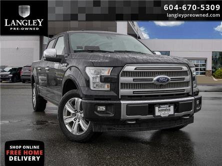 2017 Ford F-150 Platinum (Stk: LC0191) in Surrey - Image 1 of 22