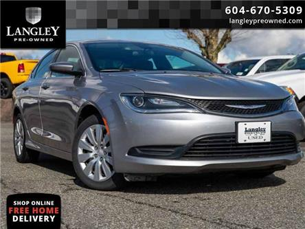 2016 Chrysler 200 LX (Stk: LC0104A) in Surrey - Image 1 of 21