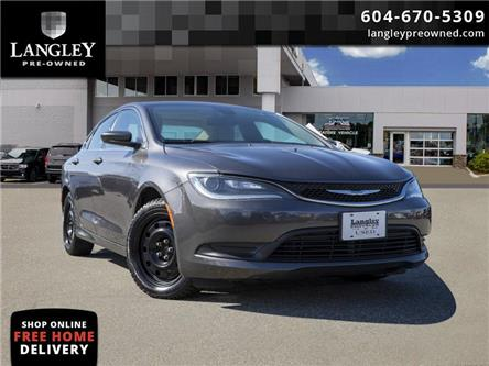 2016 Chrysler 200 LX (Stk: LC0042A) in Surrey - Image 1 of 21