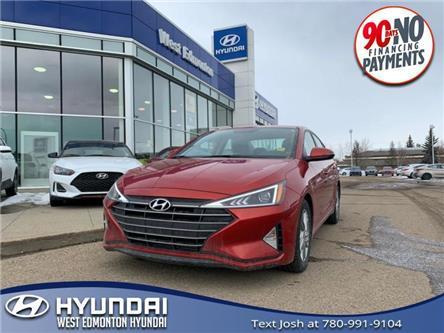 2019 Hyundai Elantra  (Stk: E4896) in Edmonton - Image 1 of 21
