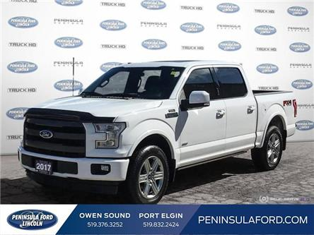 2017 Ford F-150 Lariat (Stk: 19FE35A) in Owen Sound - Image 1 of 25