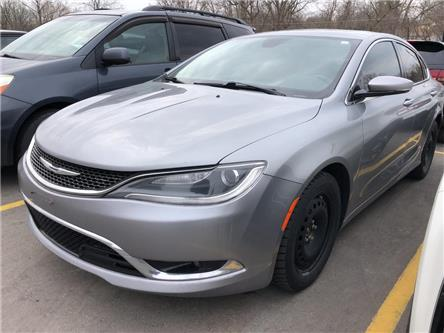 2015 Chrysler 200 C (Stk: 1099NA) in Tillsonburg - Image 1 of 12