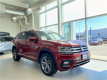 2019 Volkswagen Atlas 3.6 FSI Execline (Stk: 96557) in Toronto - Image 1 of 22