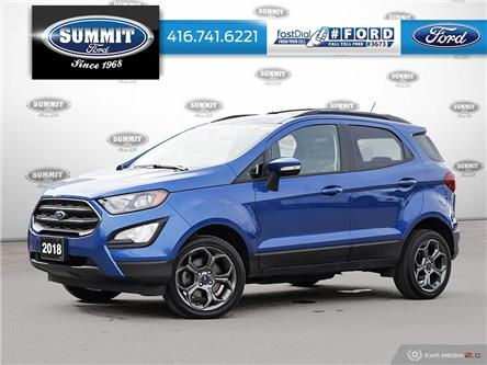 2018 Ford EcoSport SES (Stk: PL21411A) in Toronto - Image 1 of 25