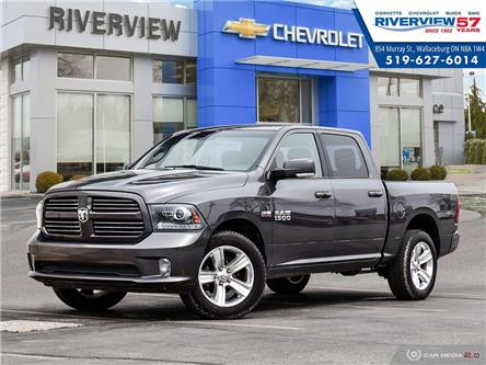 2016 RAM 1500 Sport (Stk: 19300A) in WALLACEBURG - Image 1 of 27