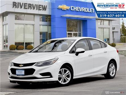 2018 Chevrolet Cruze LT Auto (Stk: U1828) in WALLACEBURG - Image 1 of 27
