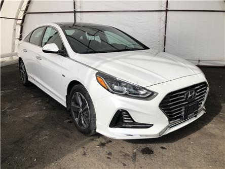 2018 Hyundai Sonata Hybrid Limited (Stk: 16597AZ) in Thunder Bay - Image 1 of 17