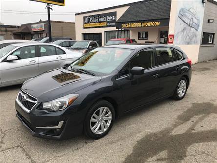 2016 Subaru Impreza 2.0i Touring Package (Stk: ) in Etobicoke - Image 1 of 14