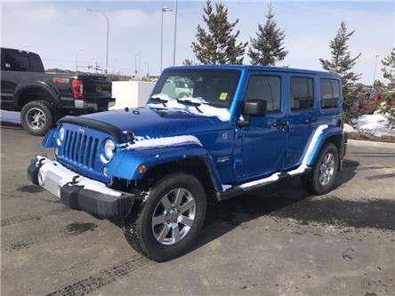 2015 Jeep Wrangler Unlimited Sahara (Stk: LSC023A) in Ft. Saskatchewan - Image 1 of 18