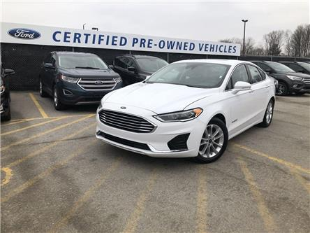 2019 Ford Fusion Hybrid SEL (Stk: P9064) in Barrie - Image 1 of 17