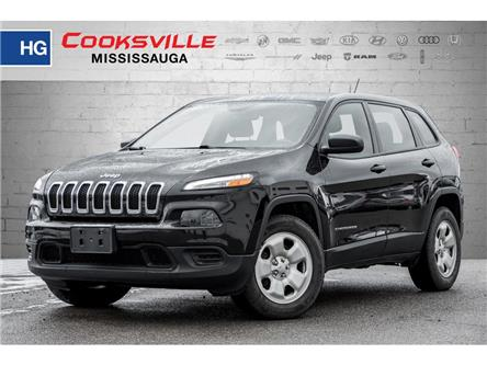 2016 Jeep Cherokee Sport (Stk: 210176TT) in Mississauga - Image 1 of 17