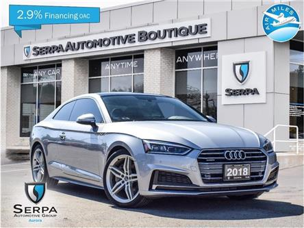2018 Audi A5 2.0T Progressiv (Stk: P1402) in Aurora - Image 1 of 29