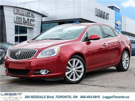 2017 Buick Verano Leather (Stk: T11645AB) in Etobicoke - Image 1 of 27